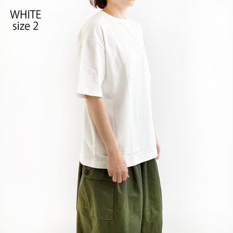 【2021 春夏】CREW NECK  BOX TEE(クルーネック ボックスT)A52103