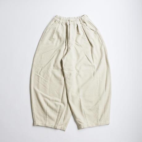 【2020秋冬】COTTON MELTON CIRCUS PANTS(コットンメルトンサーカスパンツ)A12014