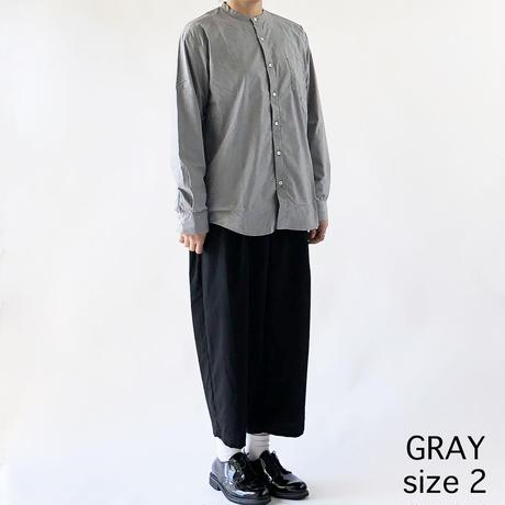BAND COLLAR SHIRTS  TRAVEL CLOTH(バンドカラーシャツ トラベルクロス)  A31901