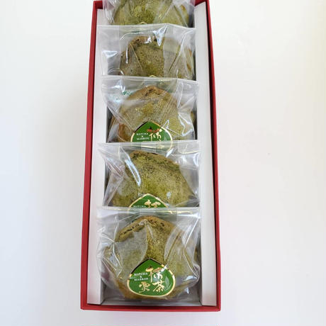 抹茶と渋皮栗のケーキ詰め合わせ(5個入)