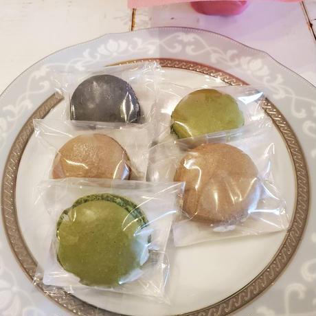 お茶のマカロン詰め合わせ(5個入 冷凍発送)