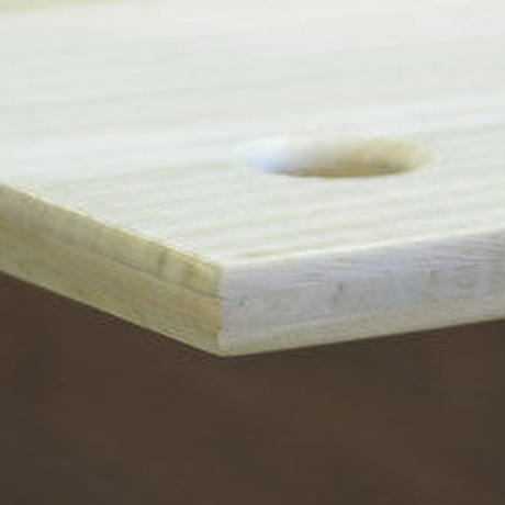 あんばい通常製品(組子あり)+桐の三層構造平床ダブル