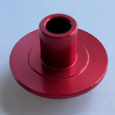 【橋輪オリジナル】ワイドキャスター用スペーサー(キャスターカラー)赤 ※1台分は4個必要です