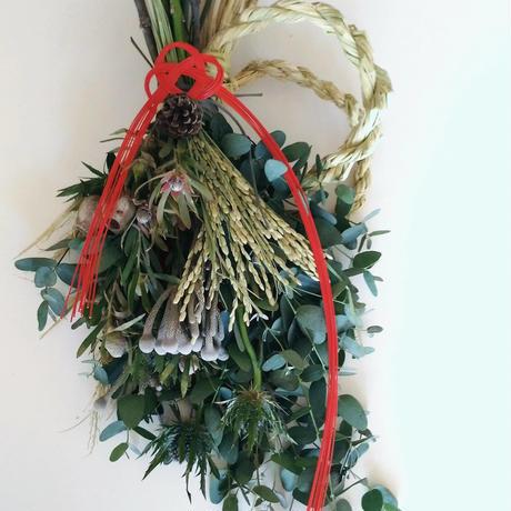 花薬局ADEF お正月のお飾り ユーカリスワッグ