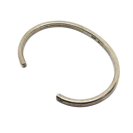 "HB-13-SV ""Lightning Stamp"" Bangle"