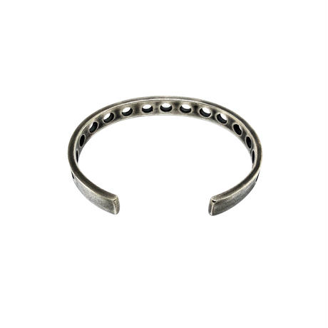 "HB-6-S   ""Drilled"" Bangle"