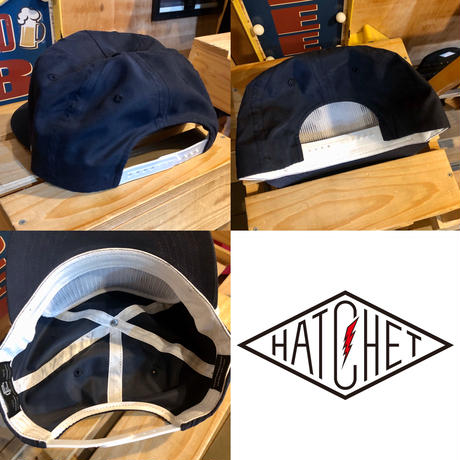 """HATCHET 5 PANEL NYLON CAP"""
