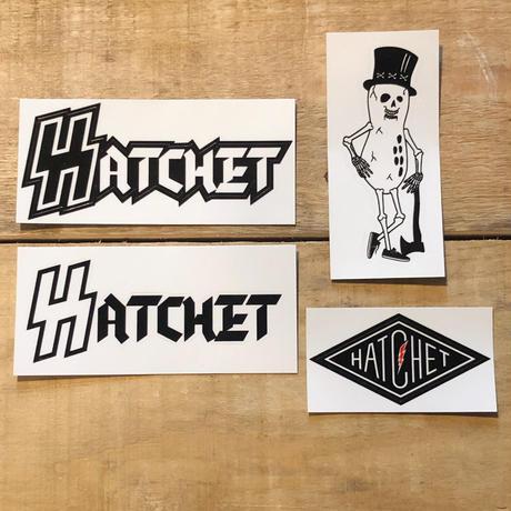"""""""HATCHET""""sticker pack"""
