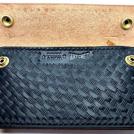 """TH-2 """"TUSH×HATCHET"""" BasketWave Tracker Wallet"""