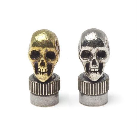 """HBC-1-B,WB """"VintageSkull""""ValveCap"""