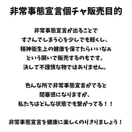 【分割購入③】非常事態宣言個チャ