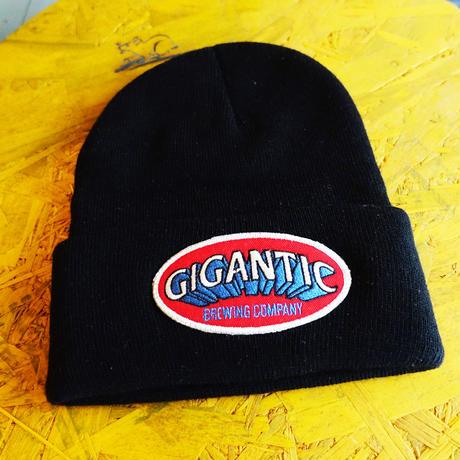 GIGANTIC BREWING -Beanie- Black ジャガンティック  ビーニー 黒