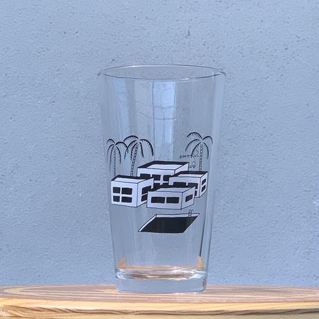 "HATOS outside Original PINT GLASS ""Yohei Model"""