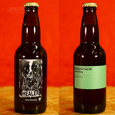 『HEALER』/『Chasing the Truth IPA』 330ml x 6本set  by HATOS Brewing.