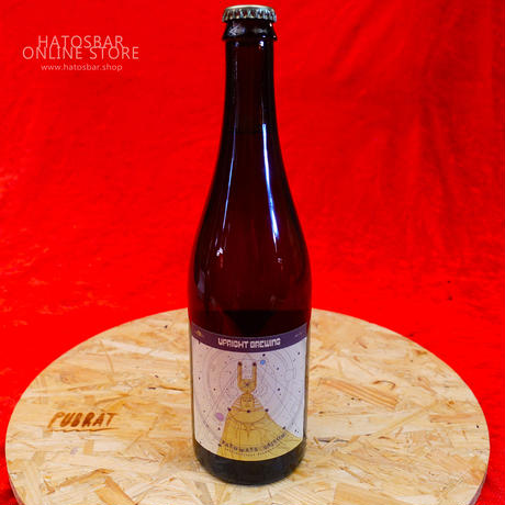"BOTTLE#15『Pathways Saison』 ""パスウェイズ セゾン"" Saison/8.0%/750ml by UPRIGHT Brewing."
