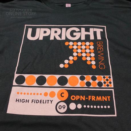 UPRIGHT BREWING  -Original T Shirts-  GREEN アップライトブリューイング・オリジナルTシャツ緑