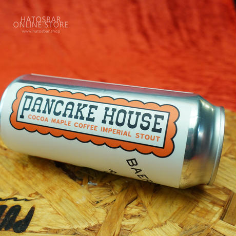 "CAN#81 『PANCAKE HOUSE』 ""パンケーキハウス"" COCOA MAPLE COFFEE IMPERIAL STOUT/11%/473ml by BAERLIC Brewing."