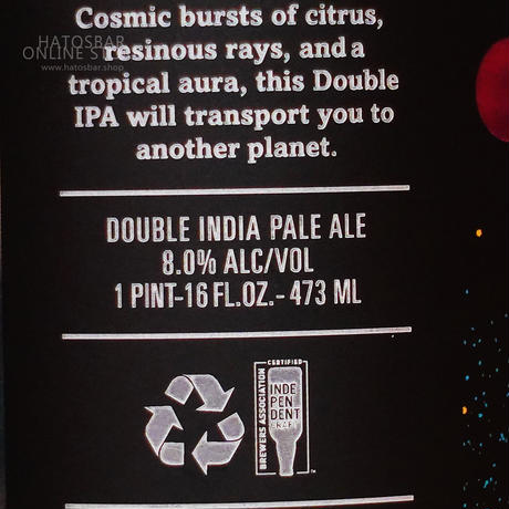 """CAN#139『Dear Giant』""""ディア ジャイアント"""" Double IPA /8.0%/473ml by LITTLE BEAST Brewing."""