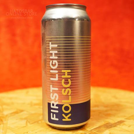 "CAN#158 『FIRST LIGHT』 ""ファーストライト"" German-style Kolsch/5.2%/473ml by BAERLIC Brewing."