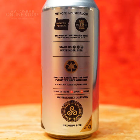 "CAN#156『MÄRZEN』""マーツェン""  Märzen/7.0%/473ml by WAYFINDER Beer."