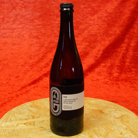 "BOTTLE#122 『The Ivy』 ""ザ アイヴィ"" Spontaneous wild ale/6%/750ml by de Garde Brewing."