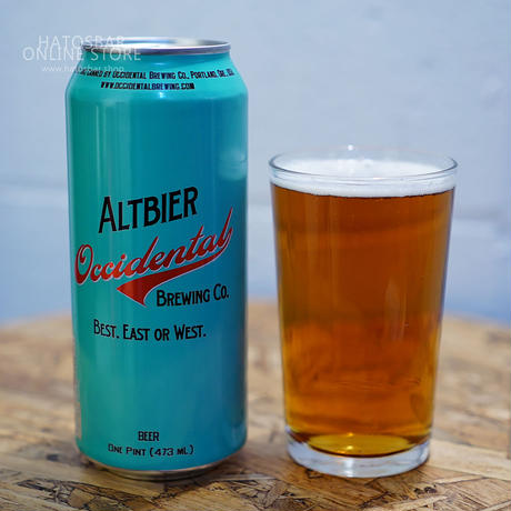 "CAN#76『ALTBIER』""アルトビール"" Altbier/5.2%/473ml by Occidental Brewing."