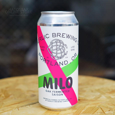 "CAN#99『MILO』 ""マイロ"" OakFermented Saison/6.2%/473ml by BAERLIC Brewing"