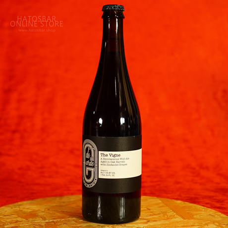 "BOTTLE#121 『The Vigne』 ""ザ ヴィーニュ"" Spontaneous wild ale/7.2%/750ml by de Garde Brewing."