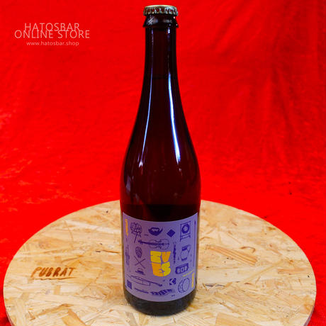 "BOTTLE#21『Ives 2nd』""アイヴス セカンド"" Lambic/7.0%/750ml by UPRIGHT Brewing."