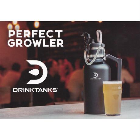 『DRINKTANKS』0.95L/32ozクウォーターガロングラウラー