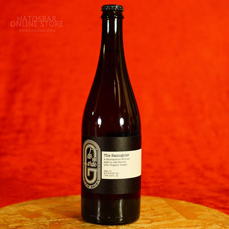 "BOTTLE#124 『The Samognier』 ""ザ サモニエール"" Spontaneous wild ale/8.4%/750ml by de Garde Brewing."