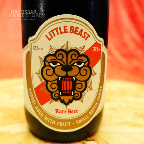 "BOTTLE#70『MIDNIGHT RIOT』""ミッドナイトライオット""  Imperial Bruin Sour/9.6%/375ml by LITTLE BEAST Brewing."