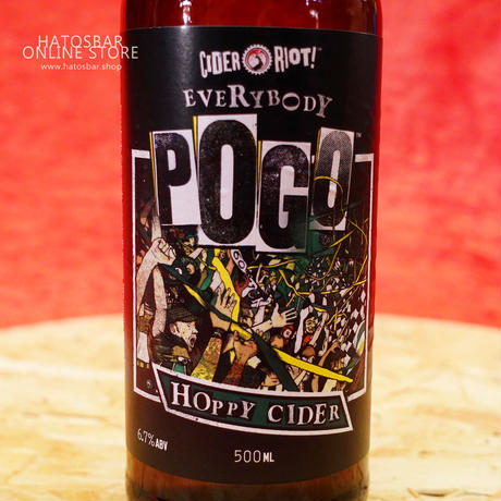 "BOTTLE#28『Everybody Pogo』""エブリバディ ポゥゴ"" Cider/6.7%/500ml by Cider Riot!"