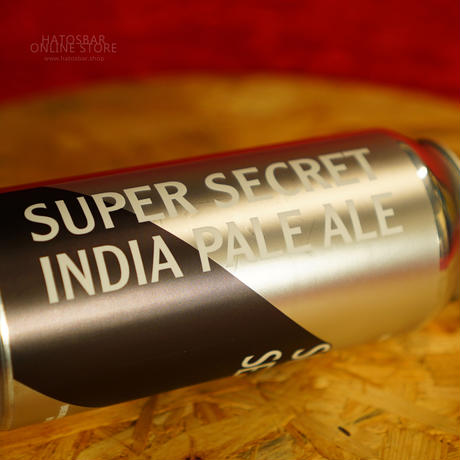 "CAN#129 『Super Secret IPA』 ""スーパーシークレットIPA""  IPA/6.2%/473ml by BAERLIC Brewing."