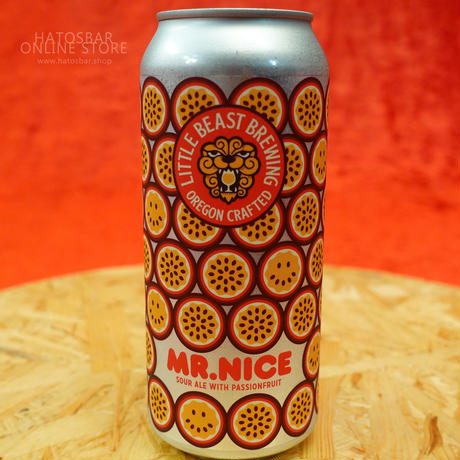 """CAN#110『MR.NICE 』""""ミスターナイス"""" Sour Ale With Passionfruit/5.2%/473ml by LITTLE BEAST Brewing"""
