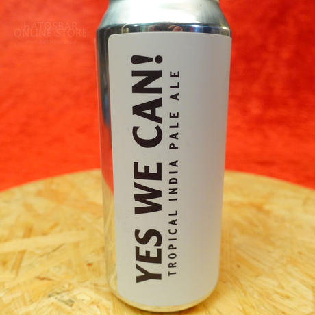 """CAN#101『YES WE CAN!』 """"イエス ウィー キャン!"""" Tropical IPA/5.6%/473ml by BAERLIC Brewing"""
