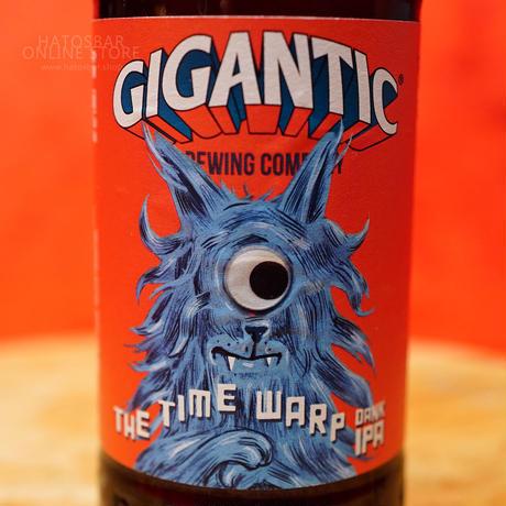 """BOTTLE#154『TIME WARP』 """"タイムワープ"""" DANK IPA/6.3%/500ml by GIGANTIC Brewing."""