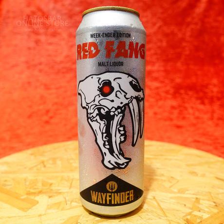 "CAN#181『RED FANG』""レッドファング"" Malt Liquor/6.5%/544ml by WAYFINDER Beer."