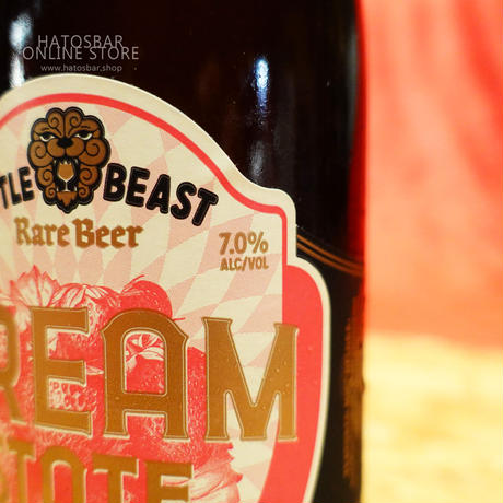 "BOTTLE#67『DREAM STATE』""ドリームステート""  Foeder-Aged Ale/7.0%/375ml by LITTLE BEAST Brewing."