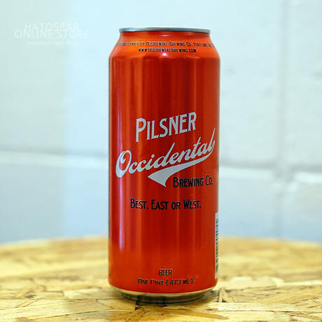 "CAN#55『PILSNER』""ピルスナー"" Pilsner/4.8%/473ml by Occidental Brewing"