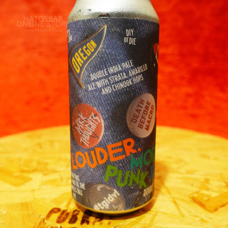 """CAN#177『LOUDER, MORE PUNK ROCK』 """"ラウダー・モアパンクロック"""" Double IPA/8.0%/473ml by BAERLIC Brewing."""