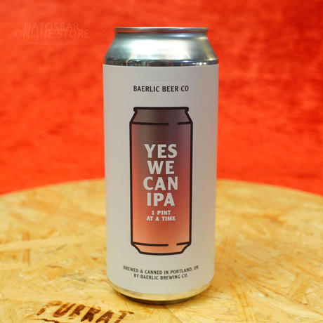 "CAN#101『YES WE CAN!』 ""イエス ウィー キャン!"" Tropical IPA/5.6%/473ml by BAERLIC Brewing"