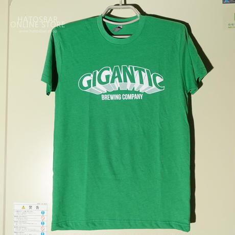 "GIGANTIC BREWING -T Shirts- ""LOGO"" Green ジャイガンティック ""ロゴ"" Tシャツ(送料込)"
