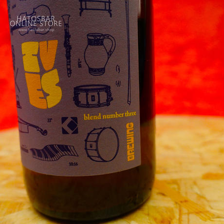 "BOTTLE#22『Ives 3rd』""アイヴス サード"" Lambic/7.0%/375ml by UPRIGHT Brewing."