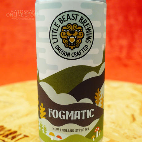 "CAN#109『FOGMATIC 』""フォグマティック"" New England Style IPA/6.2%/473ml by LITTLE BEAST Brewing"