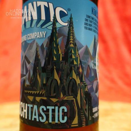 """BOTTLE#60『KÖLSCHTASTIC』""""ケルシュタスティック"""" Kölsch. alc. 5.2%/500ml by GIGANTIC Brewing."""