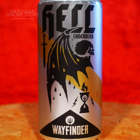 """CAN#143『Hell』""""ヘル"""" Helles Lager/4.7%/473ml by WAYFINDER Beer."""