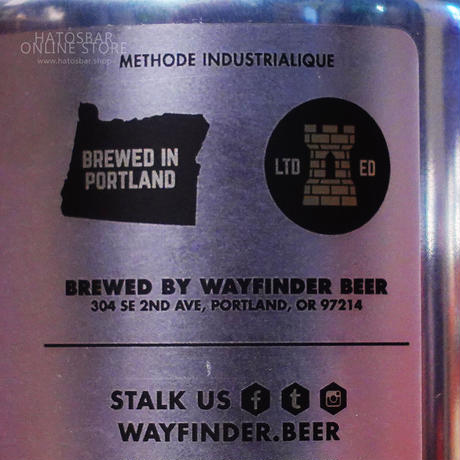 """CAN#144『Relapse』""""リラプス"""" IPA/7.0%/473ml by WAYFINDER Beer."""
