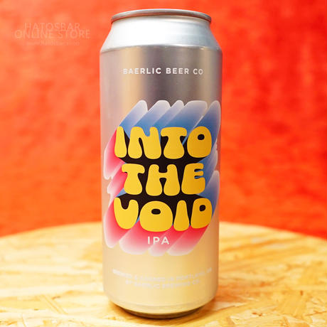 "CAN#150 『INTO THE VOID』 ""イントゥーザヴォイド"" IPA/6.7%/473ml by BAERLIC Brewing."