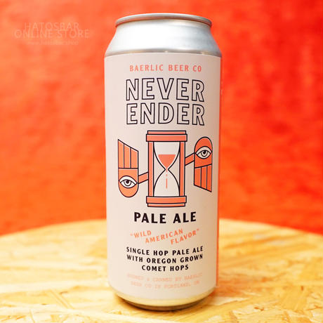 "CAN#151 『NEVER ENDER』 ""ネヴァーエンダー"" PALE ALE/5.2%/473ml by BAERLIC Brewing."